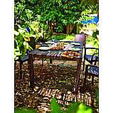 Комплект садовой мебели Allibert by Keter Melody Bali Mono Fiesta Set Brown ( коричневый ), фото 9