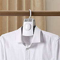 Сушилка вешалка для одежды и обуви портативная электрическая сушка для вещей Umate Белая