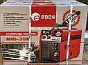 Сварочный полуавтомат Edon MIG-308 MIG/MMA напівавтомат зварювальний, фото 5