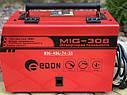 Сварочный полуавтомат Edon MIG-308 MIG/MMA напівавтомат зварювальний, фото 7