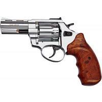 """Револьвер флобера STALKER 3"""" 4 мм Нікель. Пластик ц:коричневий (ST3WN), фото 1"""