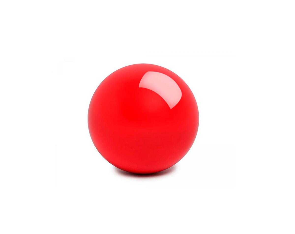 Шар Champion Снукер 52,4 мм Красный