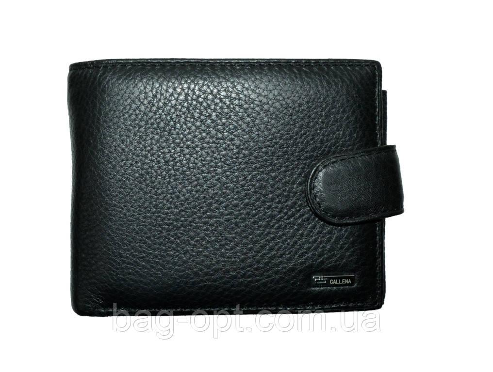 Мужской кошелек из натуральной Callena (9.5x12.5x3.5 см)