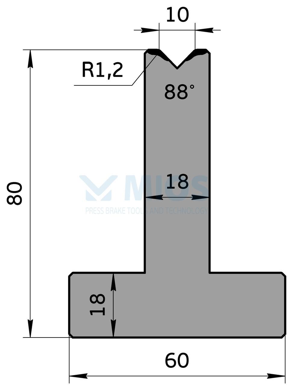 Матрица М.538.88.С (835мм)