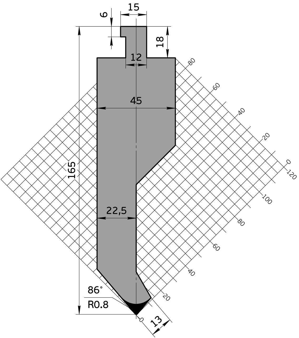 Пуансон Р.900.81.С (835мм)