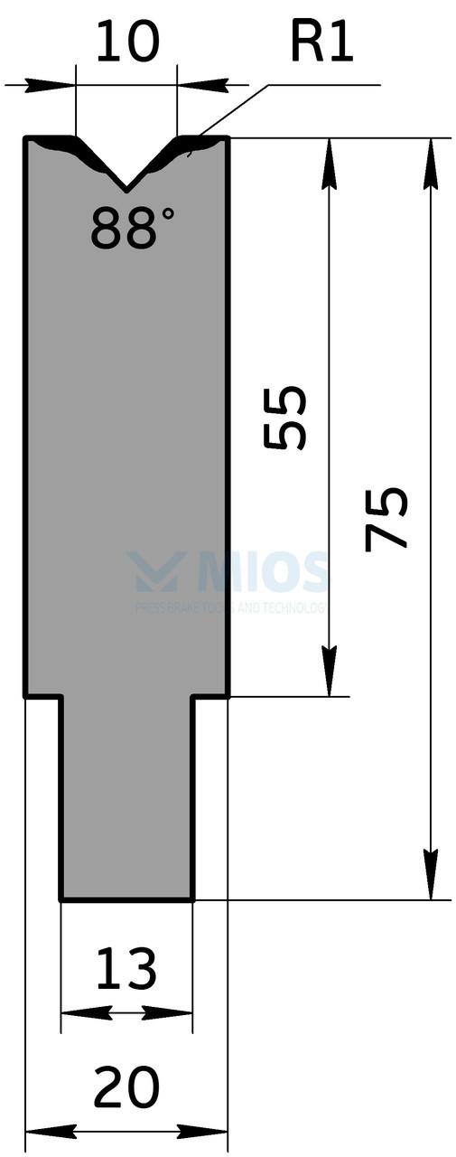 Матрица M.705.88.H (500мм)