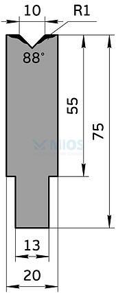 Матрица M.705.88.H (500мм), фото 2