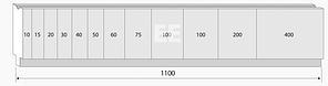Матрица M.705.88.H (500мм), фото 3