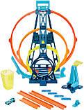 Набор Хот Вилс Track builder Тройная петля / Hot Wheels Track Builder Unlimited Triple Loop Kit, фото 5