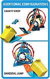 Набор Хот Вилс Track builder Тройная петля / Hot Wheels Track Builder Unlimited Triple Loop Kit, фото 8