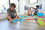 Набор Хот Вилс Track builder Тройная петля / Hot Wheels Track Builder Unlimited Triple Loop Kit, фото 6