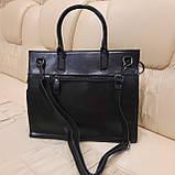 Кожаная женская сумка, фото 4