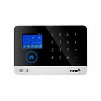 Универсальная GSM сигнализация для дома с датчиком движения и WIFI Alarm JYX G600 Classic PRO Черный (1-4226