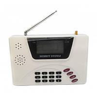 Универсальная GSM сигнализация для дома с датчиком движения Kronos DOUBLE NET Classic PRO Белый (1-1756 мон)