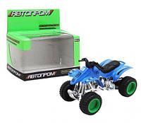 Квадроцикл, синий, машинка,детские машинки,машинки для мальчиков,машина игрушечная пластиковая