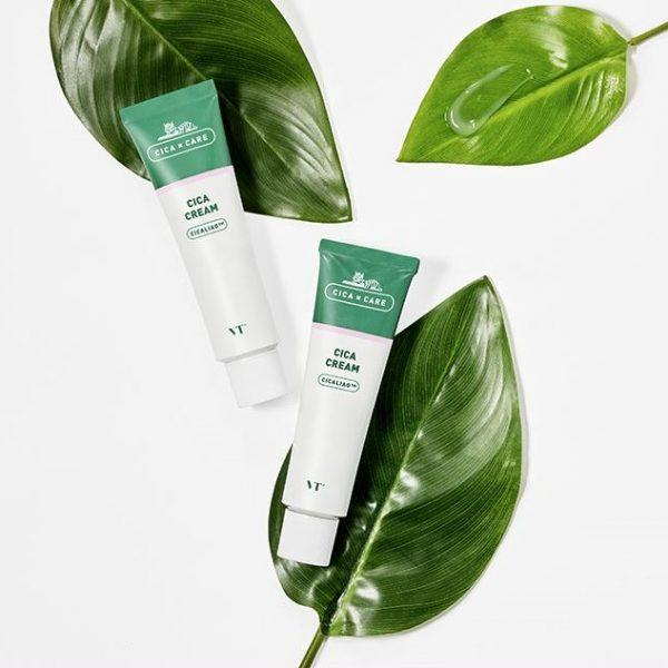 Крем для чувствительной кожи лица VT Cosmetics  Cica Cream 50 мл
