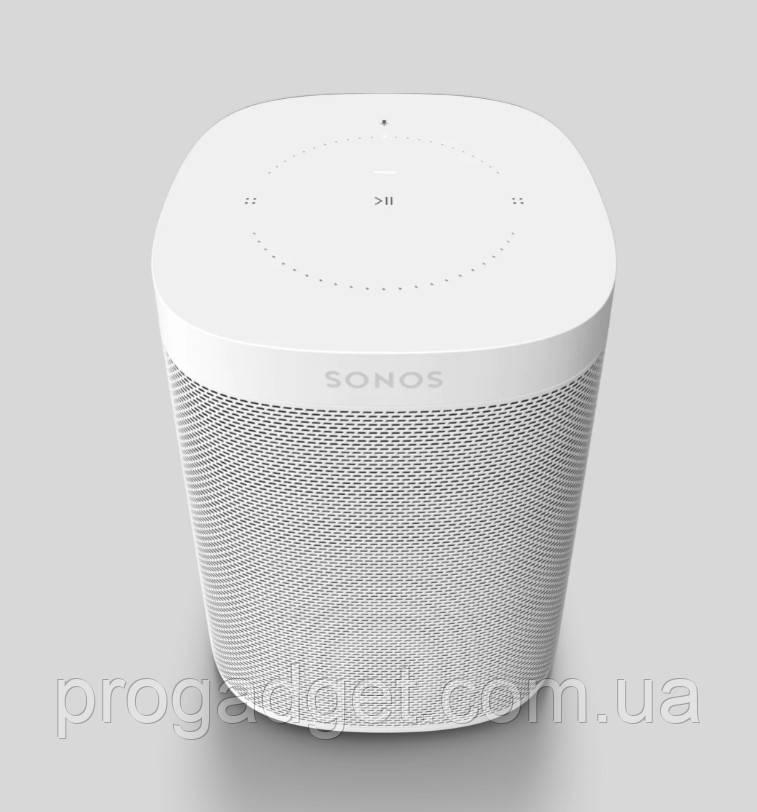 Умная колонка Sonos One (Gen 2) -  с голосовым управлением и Amazon Alexa или Google Assistent- белый цвет