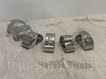 Кільця для серветок ZEPTER (Цептер) оригінал, 6 шт, нержавіюча сталь, Швейцарія.