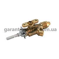 Кран газовый средней горелки для газ плиты Electrolux