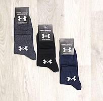 Носки спортивные демисезонные хлопок средние UNDER ARMOUR размер 36-40 ассорти