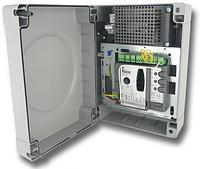 Блок управления Nice MC424 L с платой MCA2 для управления распашными воротами, фото 1