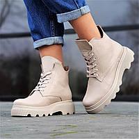 Жіночі демісезонні черевики шкіряні чорні ( код 9687 ) - жіночі черевики шкіряні чорні демисезонні