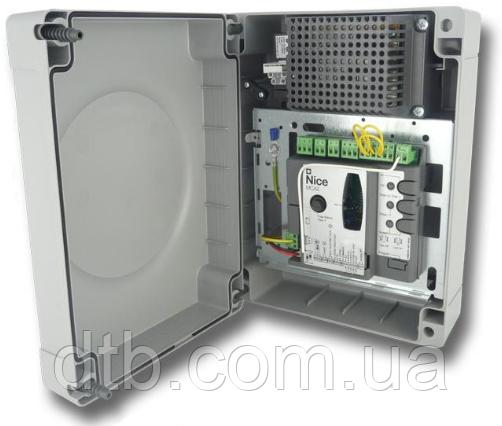 Блок управления Nice MC424 L с платой MCA2 для управления распашными воротами