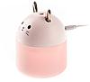 Увлажнитель котик Мини Арома-диффузор Humidifier Meng Chong USB ультразвуковой, фото 2