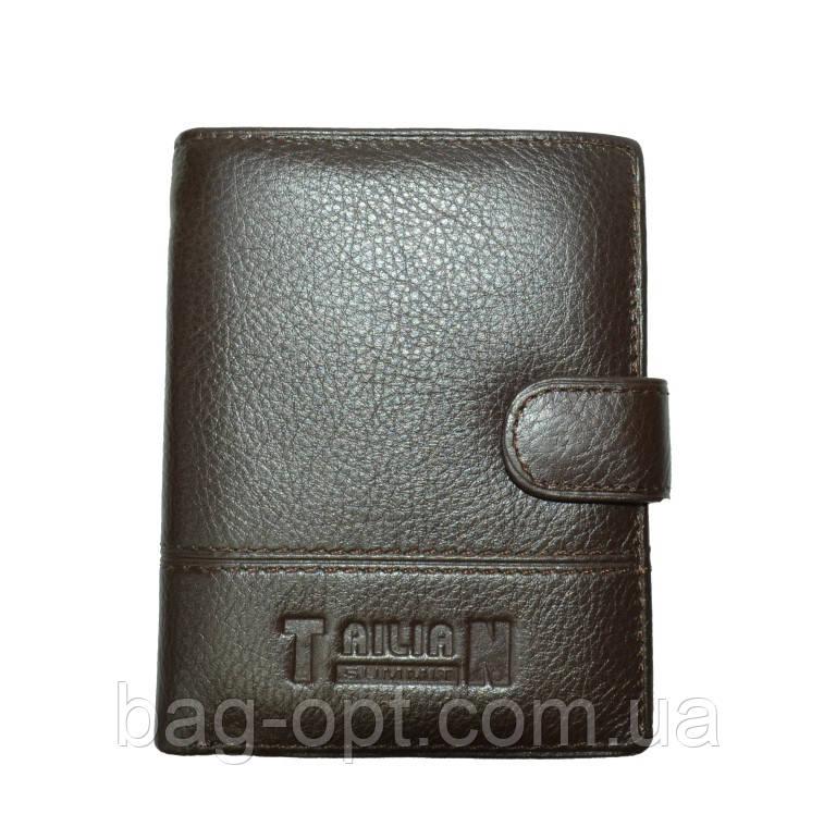 Мужской кошелек из натуральной TAILIAN (12.5x10x2.5 см)