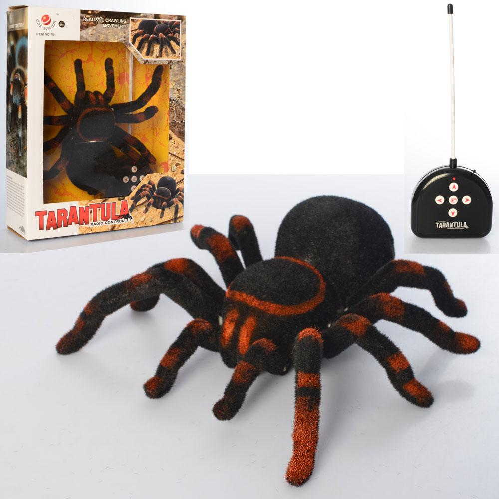 Паук Тарантул детская игрушка на пульте управления