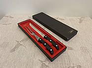 Нож и вилка для мяса (гриля, барбекю) ZEPTER (Цептер) оригинал, нержавеющая сталь, Швейцария, фото 2