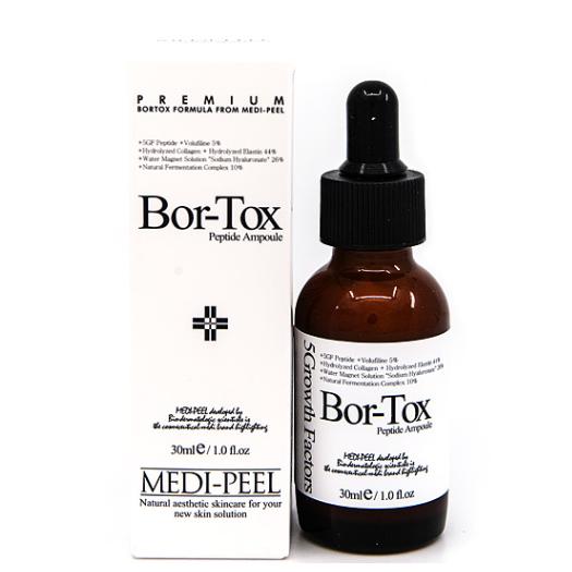 Пептидная сыворотка с эффектом ботокса Medi-Peel 5GF Bor-Tox Peptide Ampoule, 30ml