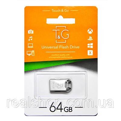 Флеш-накопитель USB 64GB TG 110 Metal Series Silver (TG110-64G)