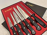 Набор ножей 5 шт + точилка ZEPTER (Цептер) оригинал, нержавеющая сталь, Швейцария, фото 4