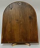 Икона на дереве Византикос полуоклад 160х190 серебрянные одежды, фото 2