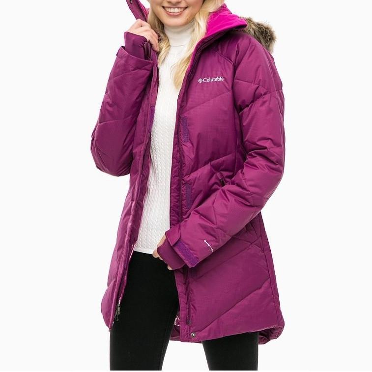 Женское пуховое пальто Columbia Lay D Down™ Mid Jacket РАЗМЕР XS