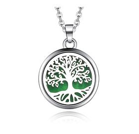 """Медальон для ароматерапии """"Райское дерево""""с блоттером."""