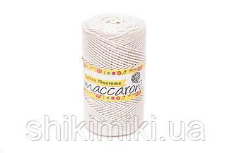 Эко Шнур Cotton Macrame, цвет Кремовый