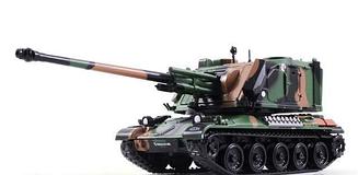 Танки Мира. Коллекция №12 Французская САУ AMX 30 Au   Модель коллекционная в масштабе 1:72   Арсенал-Коллекция