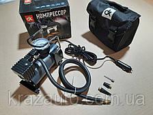Компрессор, 12V, 7Атм, 30л/мин, прикуриватель DK31-001