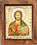"Икона под старину ""Византикос"" (16,5х19,5см), фото 6"