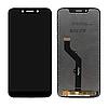 Дисплей (экран) для Motorola XT1952 Moto G7 Play + тачскрин, черный