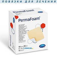Permafoam 10х10 (Пемафом), повязка губчатая на раны
