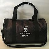 Спортивные большие сумки из эко кожи BALENCIAGA (ТЕМНЫЙ БЛЕСТКИ)26х42см, фото 2