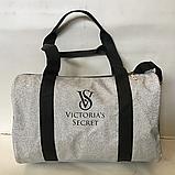Спортивные большие сумки из эко кожи BALENCIAGA (ТЕМНЫЙ БЛЕСТКИ)26х42см, фото 4
