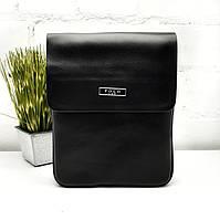 Мужская сумка кросс-боди черный Арт.86686-2 black Polo (Китай)