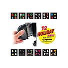 Уличный лазерный проектор Star Shower Slide Show 12 слайдов праздничное освещение, диско проектор, фото 2