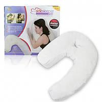Эргономичная ортопедическая подушка для сна Side Sleeper Pro с отверстие для уха (Сайд Слипер Про)