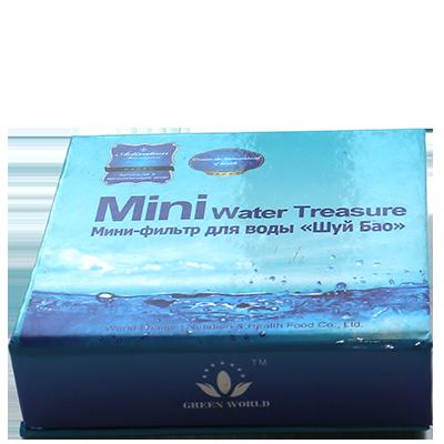 Мини фильтр для воды Шуй Бао активирует и минерализует воду в чашке или бутылке. Живая вода с собой всегда!, фото 2