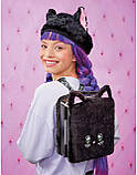 Набор Na Na Na Surprise Рюкзачок-кошечка / Na Na Na Surprise Backpack Bedroom Playset Black Fuzzy Kitty, фото 6